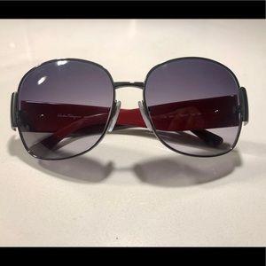 Salvatore Ferragamo butterfly style sunglasses